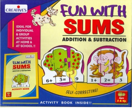 Fun with Sums Addition & Subtraction - Kids Maths Game