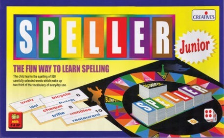 SPELLER JUNIOR - Kids English literacy game
