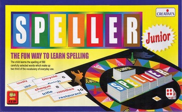 SPELLER JUNIOR English literacy game