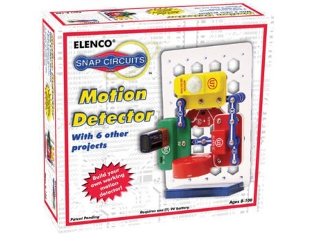 MOTION DETECTOR Electronics toys for Kids