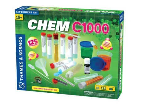 Thames & Kosmos CHEM C1000 Science Experiments for Kids | Age 10+