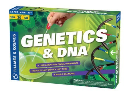 Thames & Kosmos Biology GENETICS & DNA - Science Toys for Kids | Age 10+