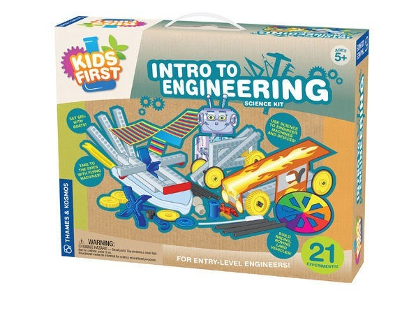 INTRO TO ENGINEERING | Age 5+