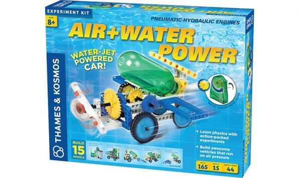 Air and Water Power Science experiments for kids